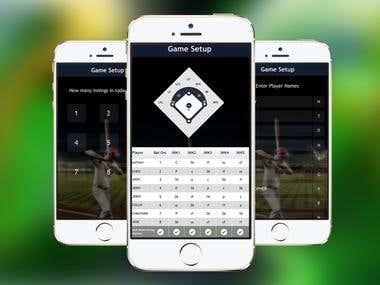 Baseball Coach App