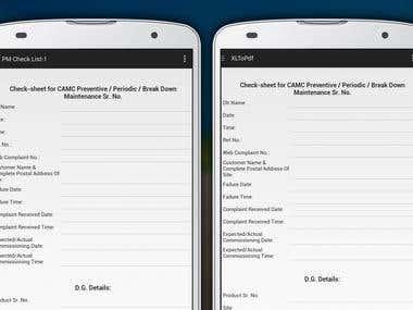 Battery Service App