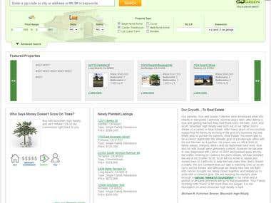 Realestate website with RETS/IDX integration