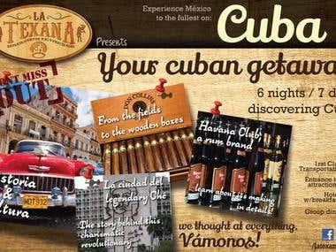 Promocional Tour en Cuba