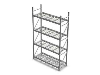 Racks and pallet design-cantilever,tearfrop and keystone