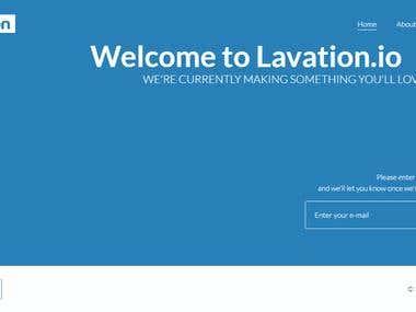 Minimal ComingSoon/Landing Page