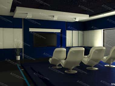 Home theater designing and 3D visualization.