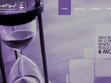 Bootstrap Website - Abueljebain