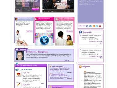Online Energy Medicine and Esthetics Portal