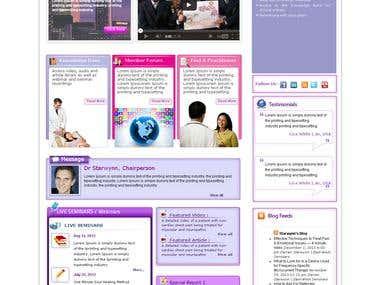 Online Energy Medicine and Esthetics Portal