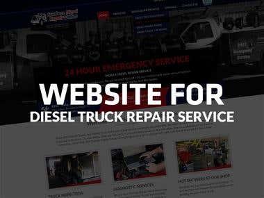 DIESEL TRUCK REPAIR SERVICE