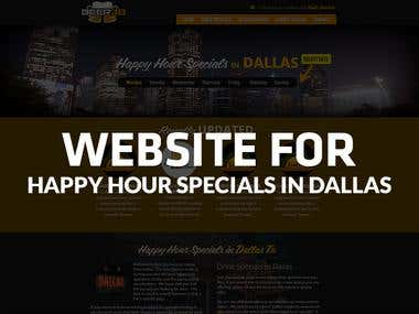 Happy Hour Specials IN DALLAS