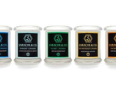 Sabachi & Co. Candles Collection