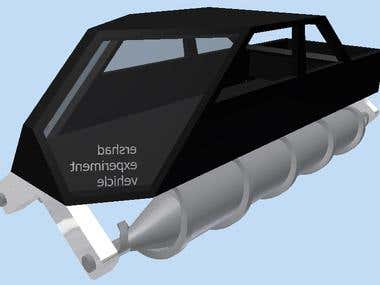 SCREW VEHICLE DESIGN BY AUTODESK INVENTOR