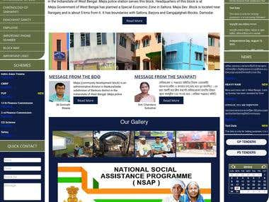 Website for The Indian Government