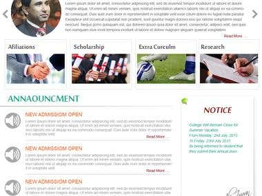 Complete Website Wordpress  http://ncbae.buc.edu.pk/