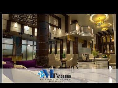 hotel 3ds max v-ray