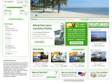 Booking Hotels Site