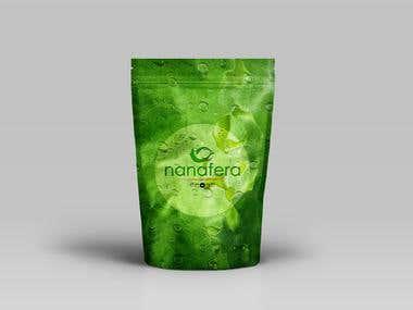 nanafera packaging design