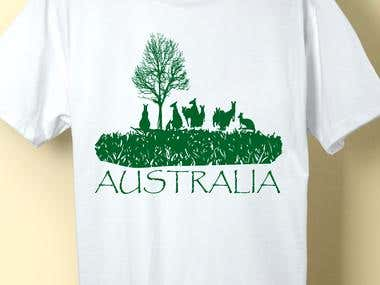 Every Australian T-shirt Design & wins