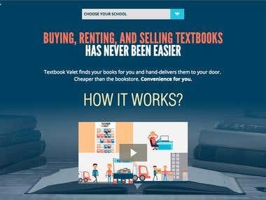 Mobile Apps for company that helps students buy, rent books