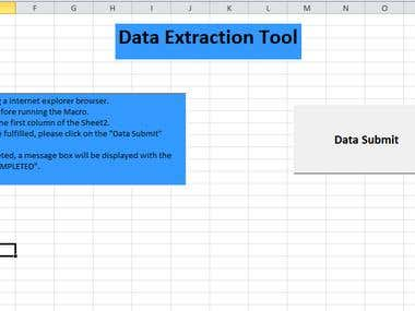 Data Extraction Tool
