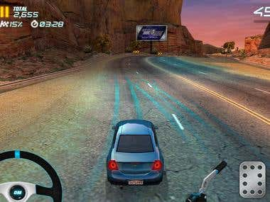 Extreme car drift