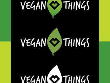 Vegan Things Logo Redesign