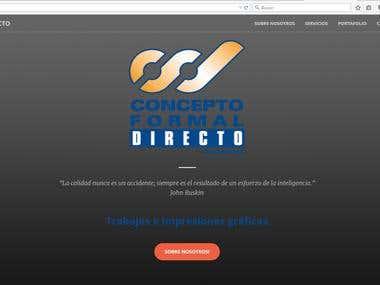 CFD webpage