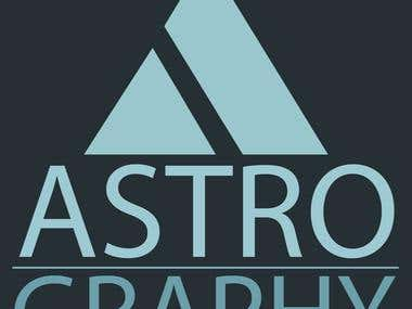 Logo for astrography
