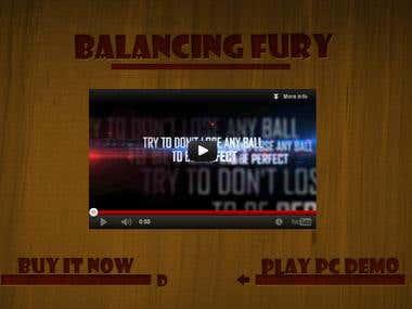 Balancing Fury - Flash website