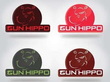 gun hippo logo