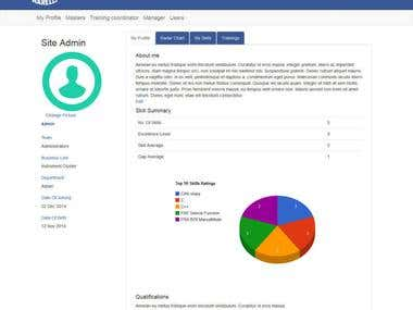Skills Development Portal