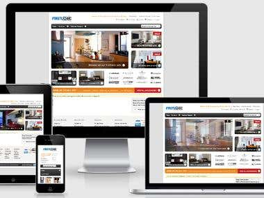 Magento Integrating Website