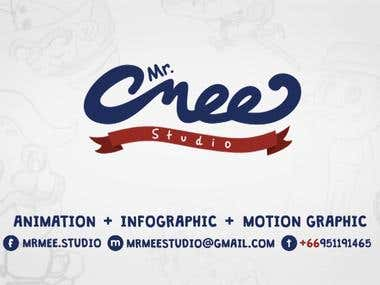 mrmeestudio - Animation, Infographic and Motion graphic service