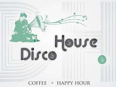 Disco House - logo