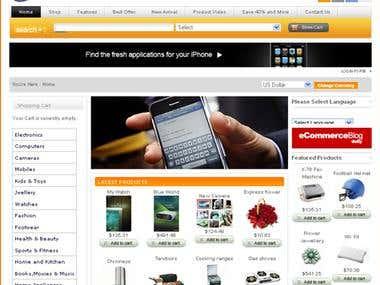 Shopping E-commerce Site