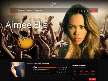 Aimee Elle\'s Website