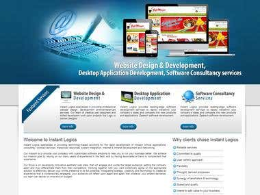 Software Company Website
