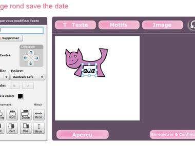 Online Designing Tool