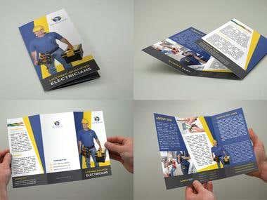 Tri Fold Flyer Design