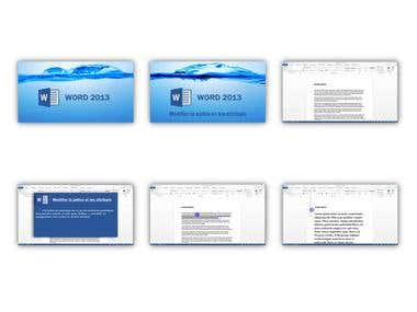 E-LEARNING - WORD 2013