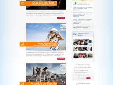Blog Di Santinni - PSD to Wordpress