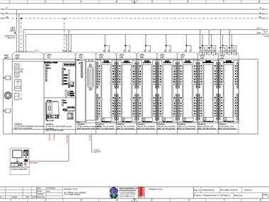 PLC WIRING DIAGRAM FOR A 80M3/H REVERSE OSMOSIS SYSTEM