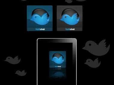 Twittchat Icon Design..
