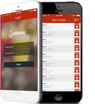 Emenu Mob_Tech :  Xamarin App