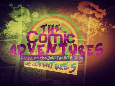 The Comic Adventures logo
