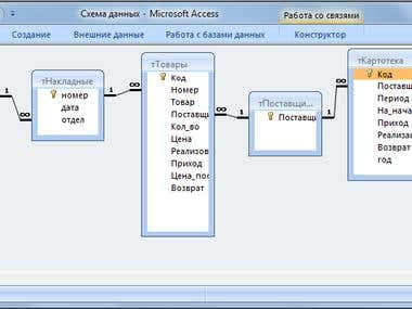 MS Access application