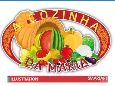 Fruit Illustration  logo