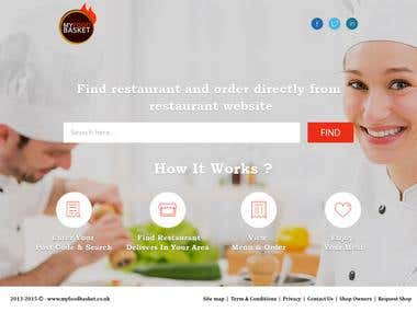 Search Landing Page