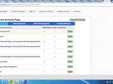 Employee Management Portal