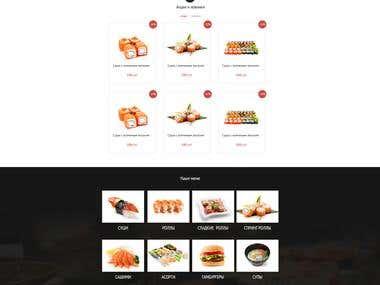 online shop sushi  - Om-Nom-Nom)))))
