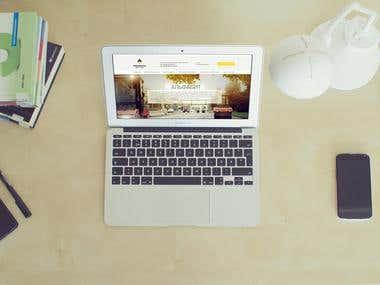 design web site for Russian company ROSNEFT ALFABIT
