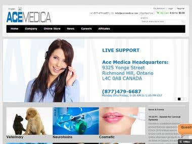 Multilingual eCommerce Site